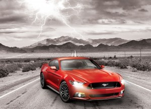 Eurographics: Fifty Years of Power - Ford Mustang GT (1000) autopuzzel