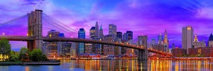 Eurographics: Brooklyn Bridge New York (1000) panorama puzzel