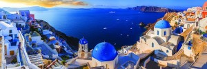 Eurographics: Santorini, Greece (1000) panorama puzzel