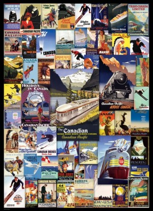 Eurographics: Canadian Pacific - Railroad Adventures (1000) puzzel
