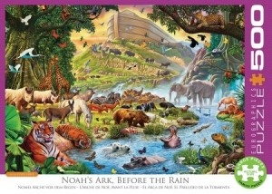 Eurographics: Noah's Ark before the Rain (500XL) legpuzzel