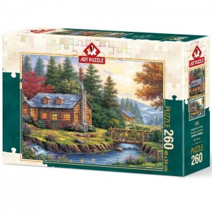Art Puzzle: Autumn on the Hills (260) herfstpuzzel