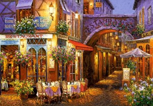 Castorland: Evening in Provence (1000) legpuzzel
