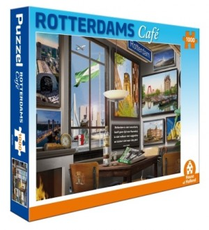 House of Holland: Rotterdams Café (1000) legpuzzel