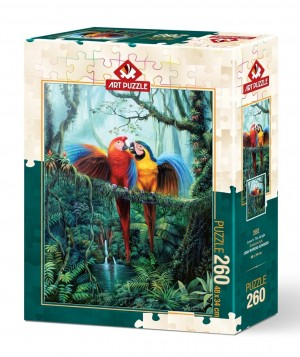 Art Puzzle: Love in the Jungle (260XL) legpuzzel