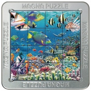 Gigamic: Magna Puzzle - Tropical Reef (16) 3d legpuzzel