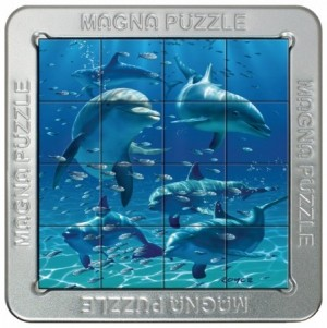 Gigamic: Magna Puzzle - Dolphins (16) 3d legpuzzel