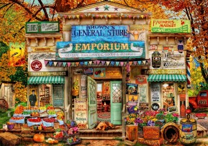 Bluebird: The General Store (1000) legpuzzel