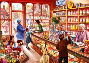 Bluebird: Sweet Shop (1000) legpuzzel