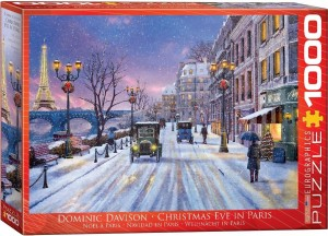 Eurographics: Christmas Eve in Paris - Dominic Davison (1000) kerstpuzzel
