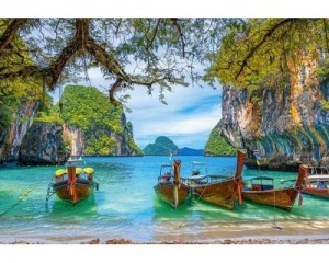 Castorland: Beautiful Bay in Thailand (1500) legpuzzel