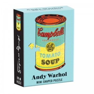 Decadence: Andy Warhol - Soup (100) shaped minipuzzel