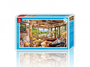 Pintoo: Fishing Map and Guide Shop (1000) plastic legpuzzel