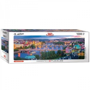 Eurographics: Prague, Czech Republic (1000) panorama puzzel