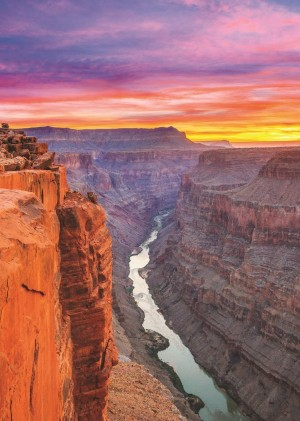 Jumbo: Grand Canyon, USA (500) verticale puzzel