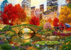Bluebird: Central Park NYC (4000) grote legpuzzel