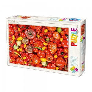 D-Toys: Tomato (1000) impossible puzzel
