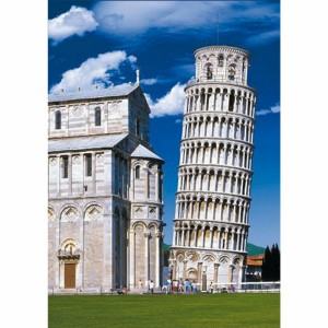 D-Toys: Tower of Pisa, Italy (500) verticale puzzel