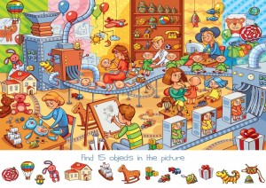 Bluebird: Search and Find - The Toy Factory (150) kinderpuzzel