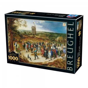D-Toys: Pieter Brueghel - The Marriage Procession (1000) kunstpuzzel