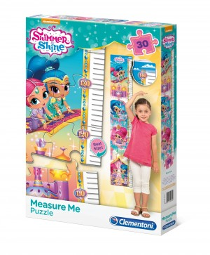 Clementoni: Measure Me Shimmer and Shine (30) kinderpuzzel