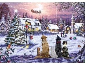 Otter House: Christmas Eve (1000) kerstpuzzel
