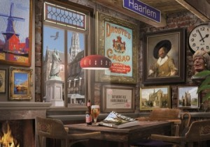 House of Holland: Haarlems Café (1000) legpuzzel