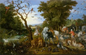 D-Toys: Pieter Brueghel - The entry of the animals into Noah's Ark (1000) kunstpuzzel