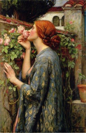 D-Toys: Waterhouse - The Soul of the Rose (1000) kunstpuzzel