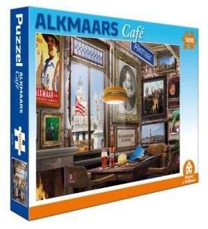 House of Holland: Alkmaars Café (1000) legpuzzel