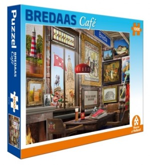 House of Holland: Bredaas Café (1000) legpuzzel