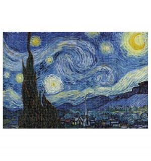 Londji: MasterPieces Starry Night Vincent van Gogh (1000) kunstpuzzel