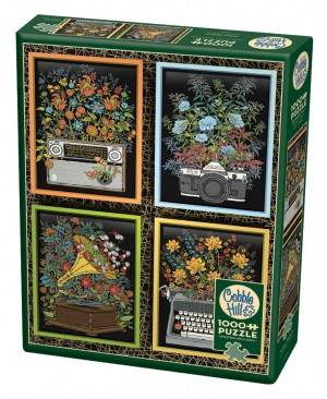 Cobble Hill: Floral Objects (1000) verticale puzzel