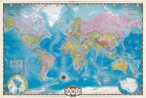 Eurographics: Map of the World (2000) landkaartpuzzel