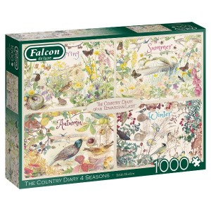 Falcon the country dairy 4 seasons legpuzzel
