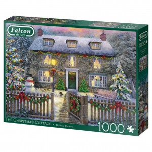 Falcon: The Christmas Cottage  - Dominic Davison (1000) kerstpuzzel