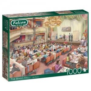 Falcon: The Bingo Hall - Alla Badsar (1000) legpuzzel