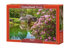 Castorland: Mill by the Pond (500) legpuzzel