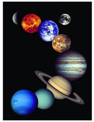 Eurographics: Nasa - The Solar System (1000) verticale puzzel