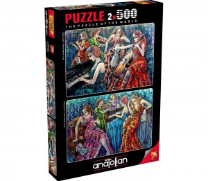 Anatolian: Colorful Notes (2x500) legpuzzel