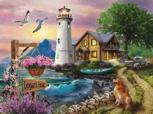 SunsOut: Logan's Pointe (1000) legpuzzel