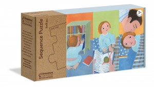 Clementoni: Sequence Puzzle - Daily Routine (4x8) kinderpuzzel