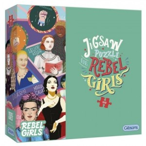 Gibsons: Rebel Girls (100XXL) legpuzzel