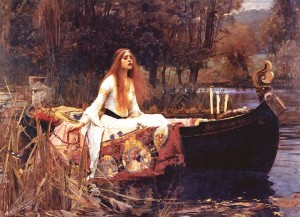 Eurographics: Lady of Shalott (1000) kunstpuzzel