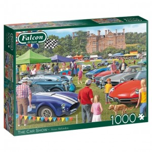 Falcon: The Car Show (1000) legpuzzel