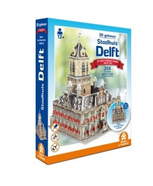 House of Holland: Stadhuis Delft (250) 3D puzzel