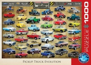 Eurographics: Pickup Truck Evolution (1000) autopuzzel