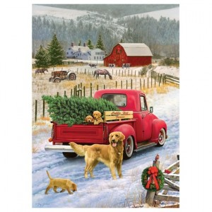 Cobble Hill: Christmas on the Farm (1000) kerstpuzzel