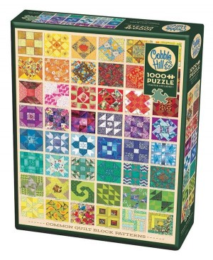 Cobble Hill: Common Quilt Blocks (1000) legpuzzel