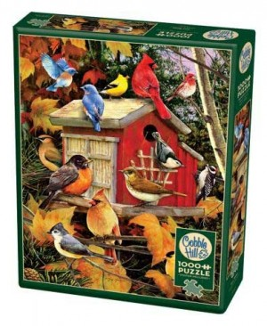 Cobble Hill: Fall Birds (1000) vogelpuzzel
